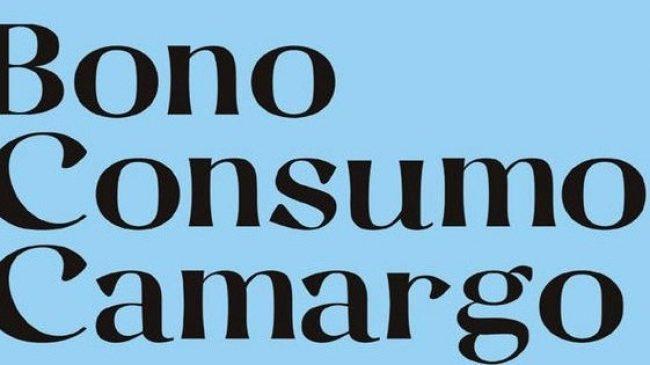 Bono Consumo Camargo 2021. Paga 10 € por cada bono y realiza compras por valor de 20 €